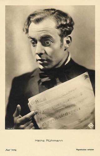 Heinz Rühmann in Ich und die Kaiserin (1933)