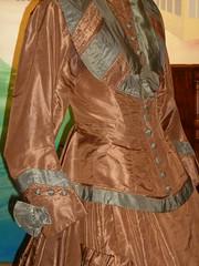 Lucy Ann Naismith wedding gown 1864