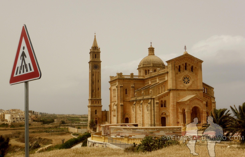 0323. Santuario Nacional de la Virgen de Ta'Pinu, Gharb, Gozo