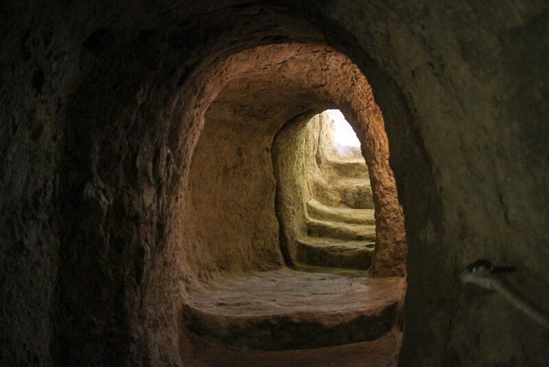tuneles de La Mota