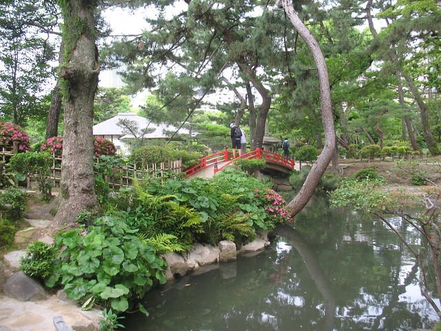 Kanran-Bridge, Shukkeien Garden, Hiroshima