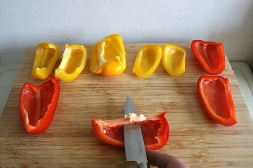 37 - Paprika entkernen / Decore bell peppers