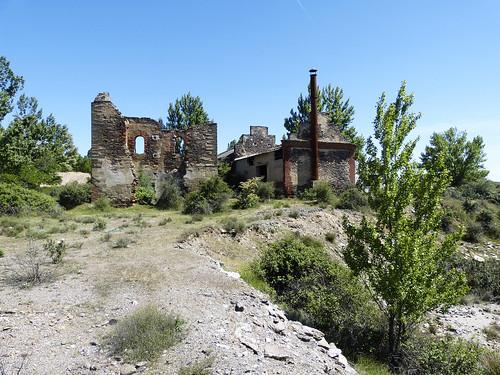 Ruinas mina de San Carlos. Hiendelaencina (Guadalajara)