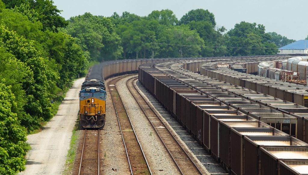 CSX 970 Evansville IN 2 June 2018
