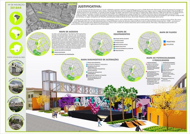 Alunos do curso de Arquitetura e Urbanismo do CEUNIH recebem menção honrosa em concurso