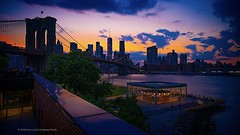 The View From The Roof . . Shot during a Friday night meetup of the #NYU_Photographers organized by @bossbug71 . . . #meetup #bluehourphotography #dumbobrooklyn #dumbo #nightphoto #janescarousel #carousel #sunset #newyorkcity #chrislord #pixielatedpixels