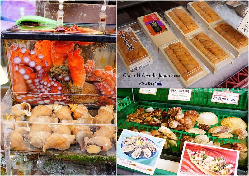 Fresh Seafood in Otaru