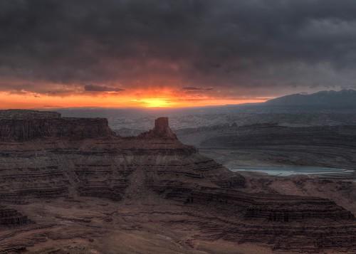 Dead Horse Point Sunrise Utah