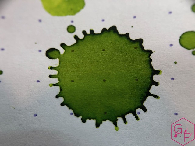 @RobertOsterInk Lime Juice Ink Review @MilligramStore 19