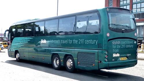 SIL 6438 'Skills Coaches'. Neoplan Tourliner Au N2216/3SHDL  /2 on Dennis Basford's railsroadsrunways.blogspot.co.uk'