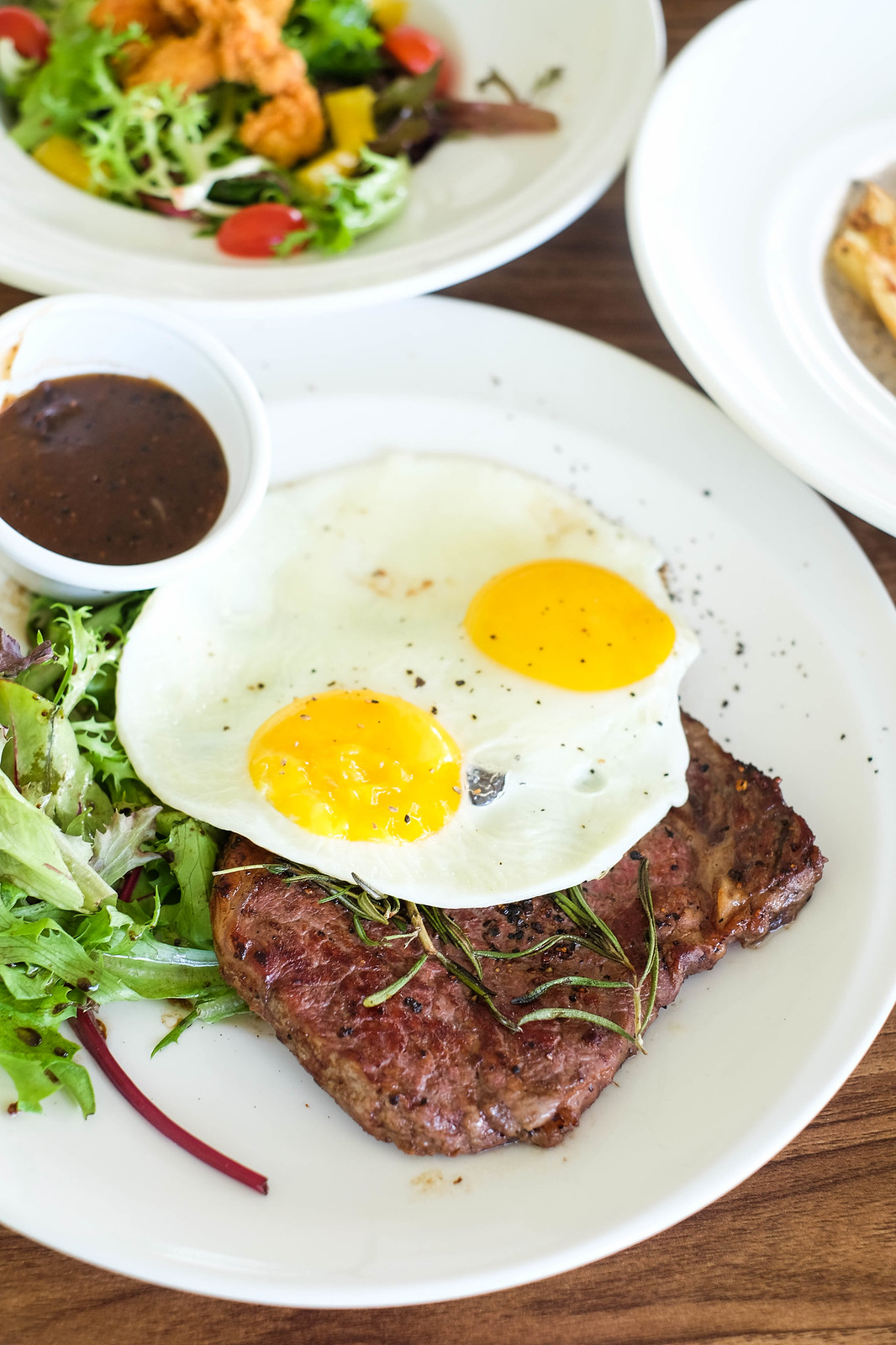 The Seagrill Steak and Eggs