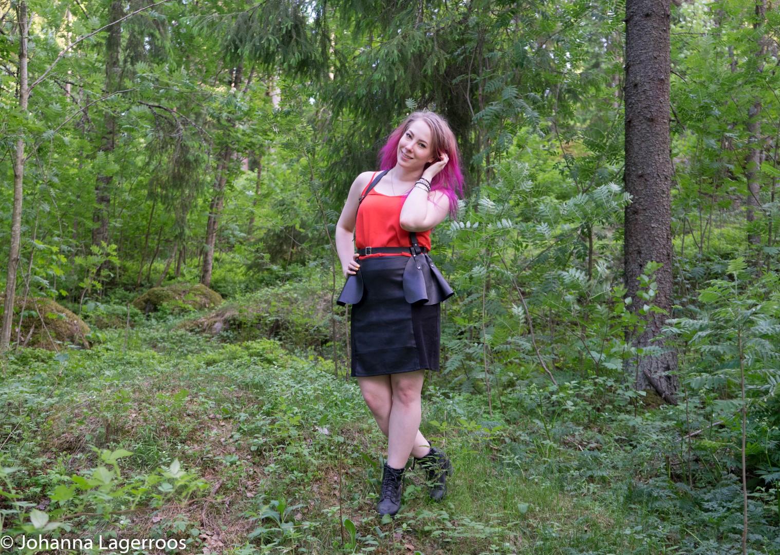 metal girl style