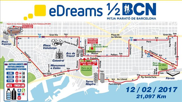 Mitja marato mapa