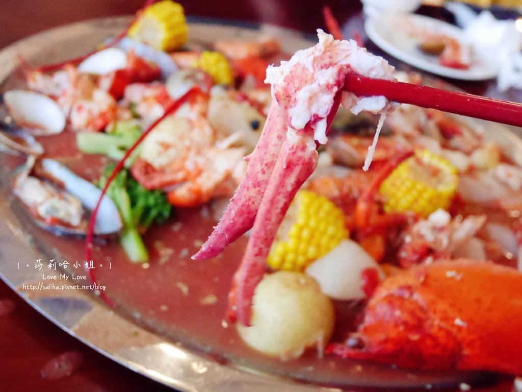 新竹南寮好吃海鮮大餐美食推薦老漁港新海鮮餐廰龍蝦 (3)