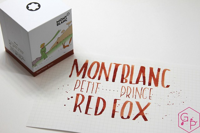 Montblanc Le Petit Prince Red Fox Ink Review @AppelboomLaren @Montblanc_World 15