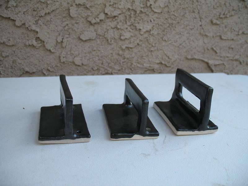 Waffle iron handles