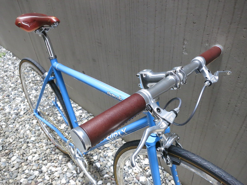 SURLY Steamroller Blue Front