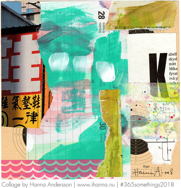 The Great Wall - Collage no 99 by iHanna a.k.a. Hanna Andersson, Swedish artist #365somethings2018