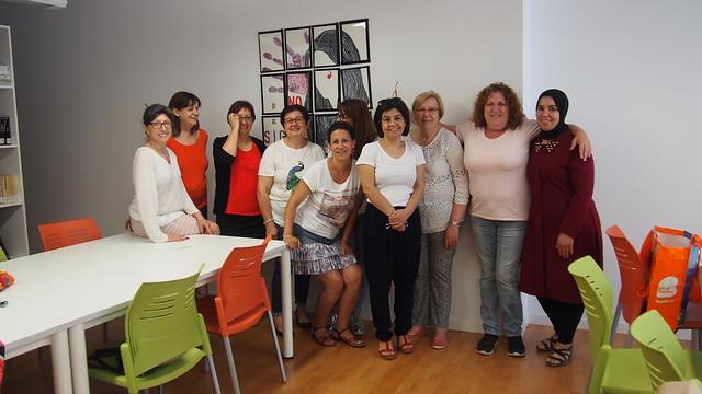 Clausura del taller de patronaje y costura en Heredades (Almoradí)