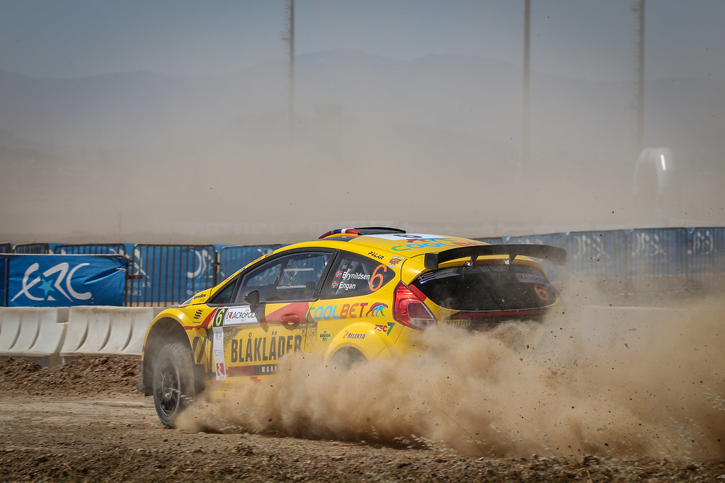 06 BRYNILDSEN  Eyvind (nor),  ENGAN Veronica (nor), Ford Fiesta R5, action during the European Rally Championship 2018 - Acropolis Rally Of Grece, June 1 to 3 at Lamia - Photo Alexandre Guillaumot / DPPI