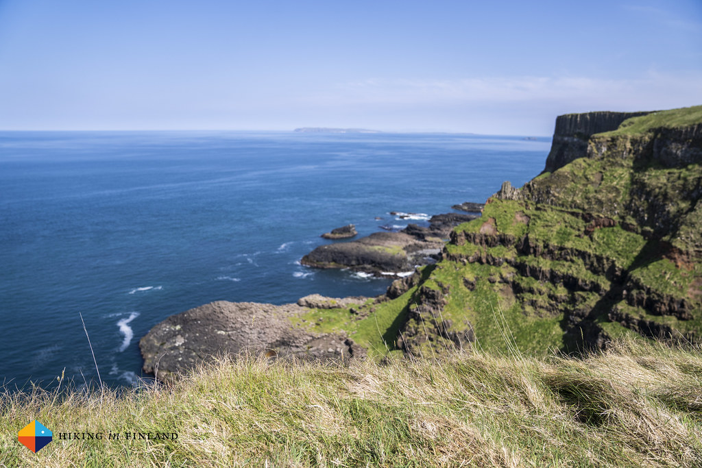 Cliffs along the Causeway Coast Way