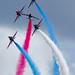 Red Arrows 2014 - Corkscrew