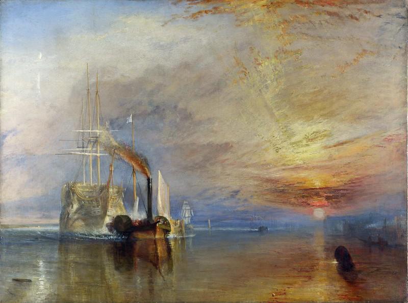 Joseph Mallord William Turner - The Fighting Temeraire (1839)