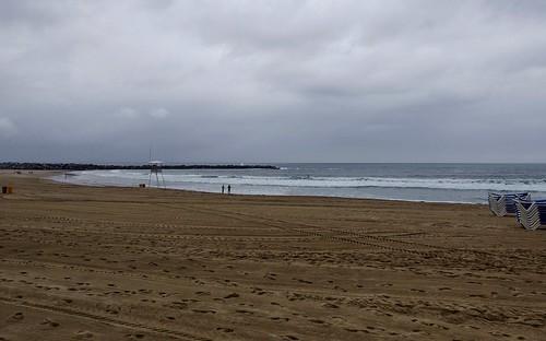 Mañana nublada hoy en Donostia y ligero sirimiri