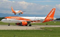 easyJet (NEO Livery). G-UZHA. Airbus A320-251N. U22052. GVA.