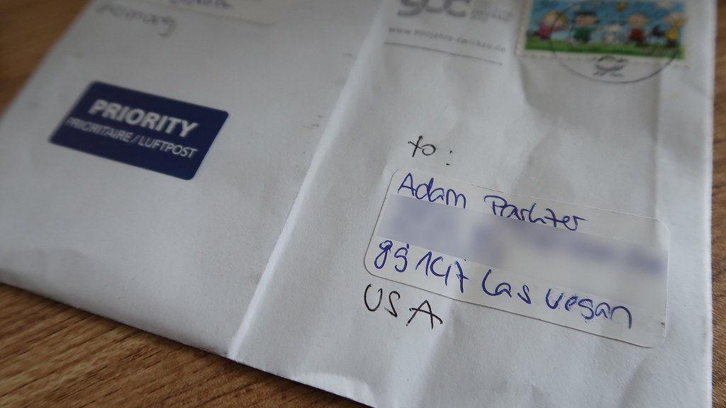 How not to address a letter