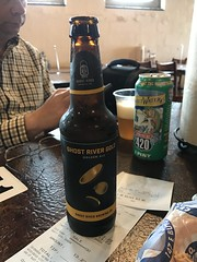 Ghost River Gold Beer at Central Bar B Que - Memphis - April 2018