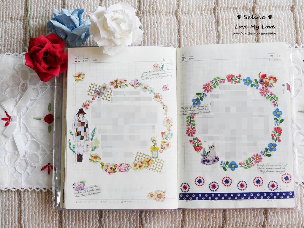 開花實驗室手帳設計裝飾紙膠帶 (3)