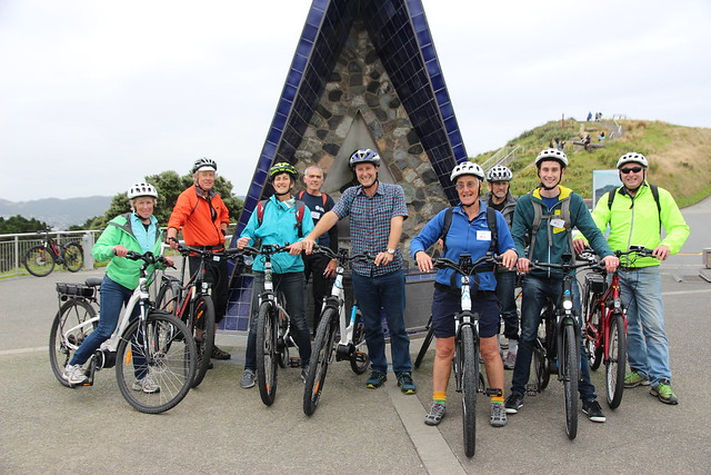 Delegates on one of the CAN-Do ride-outs, Wellington 2017