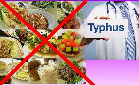 Pantangan Makanan Untuk Penderita Penyakit Tipes