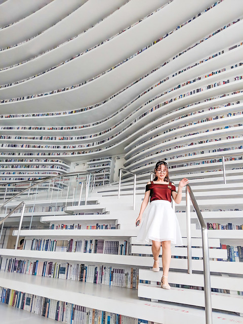 Reading in Tianjin
