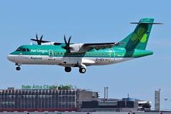 EI-GEV ATR42 @ Dublin Airport 12th May 2018