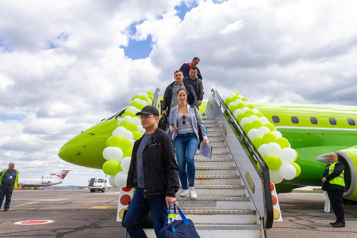 S7 Airlines первый рейс в Саратов фото 8