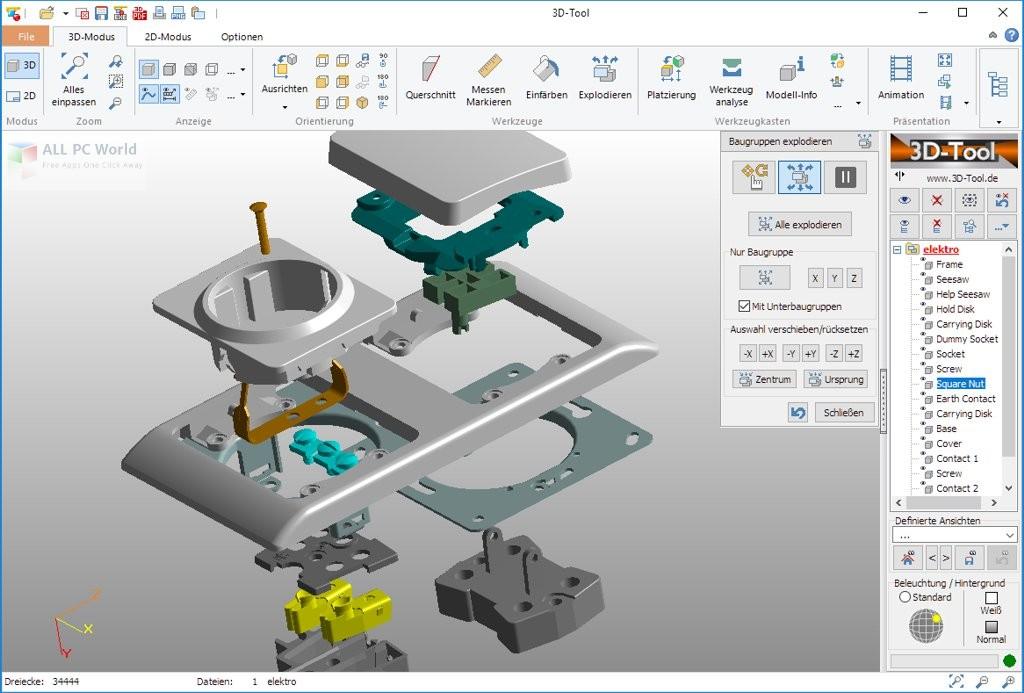 Design with 3D-Tool 13.11 Premium x64 full