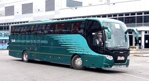 YT16 JLU 'Skills Coaches'. Scania / Lahden (Finland) OmniExpress /3 on Dennis Basford's railsroadsrunways.blogspot.co.uk'