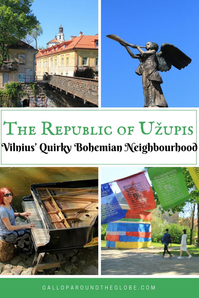 The Republic of Užupis: Vilnius' Quirky Bohemian Neighbourhood | Gallop Around The Globe