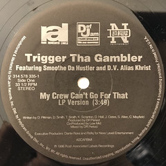 TRIGGER THE GAMBLER:MY CREW CAN'T GO FOR THAT(LABEL SIDE-A)
