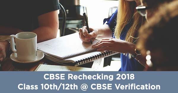 cbse rechecking