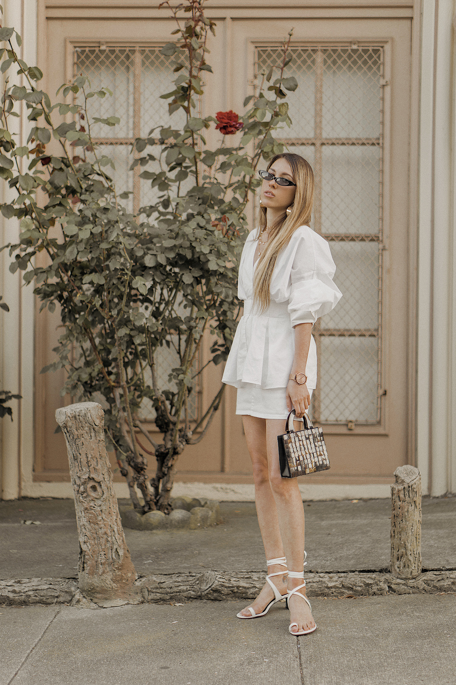 white_outfit_look_ideas_street_style_total_white_Céline_inspired_Ring_Toe_Lace_Up_Sandals_summer_san_francisco_fashion_blogger_bay_area_the_white_ocean_lena_juice_10