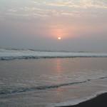 Sunset on Cox