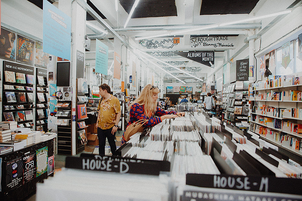 Record Shopping with... LAUREL