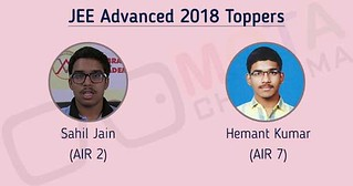 JEE Advanced Tooper AIR 2 and 7