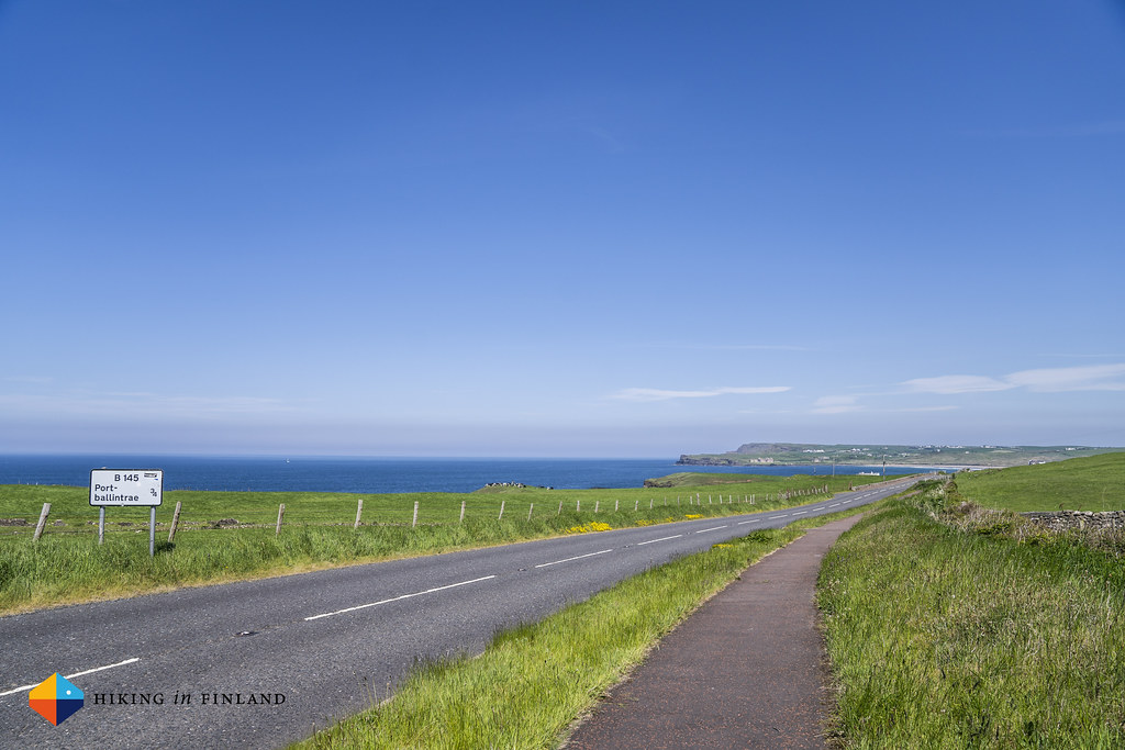 Road towards Portballintrae