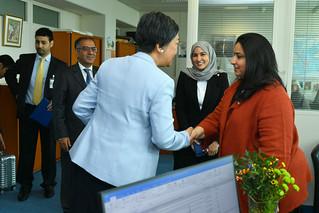 Jane Gerardo-Abaya welcomes HE Shk. Rana I. Alkhalifa (08010549)