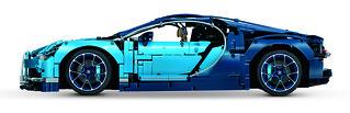 42083 Bugatti Chiron - Side