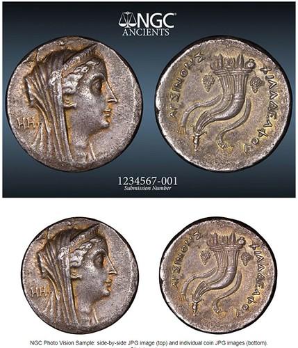 NGC coin photo service